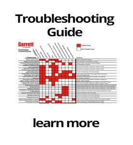 honeywell garrett turbochargers troubleshooting chart - M&D Distributors